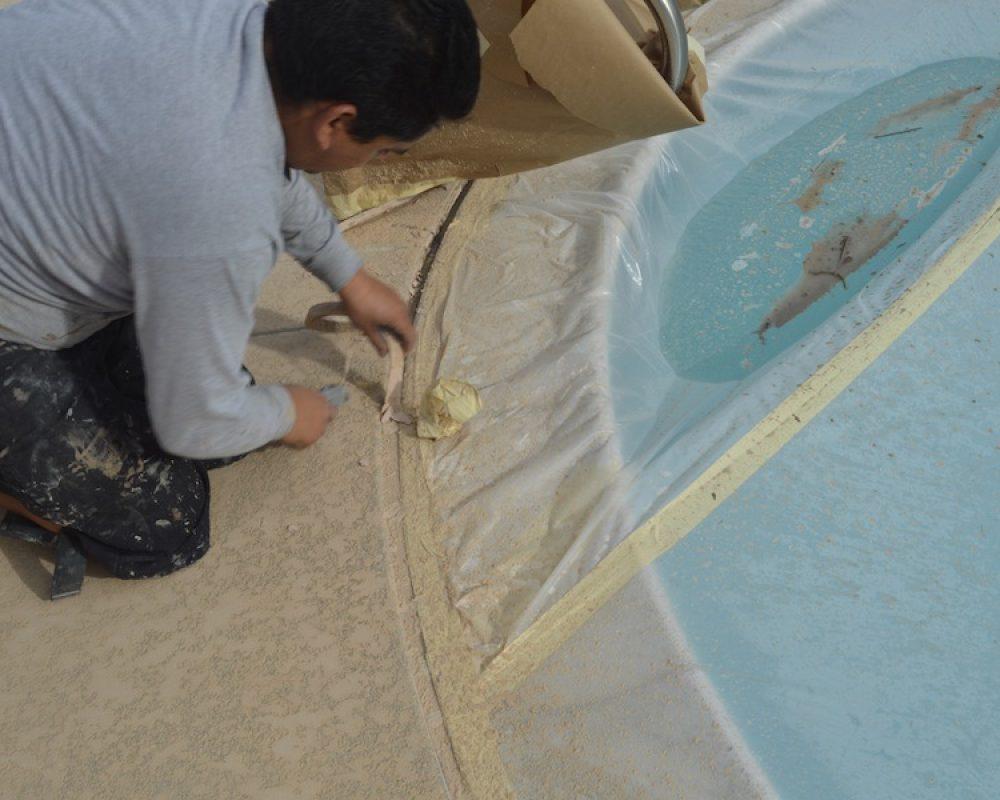 San Diego pool deck repair