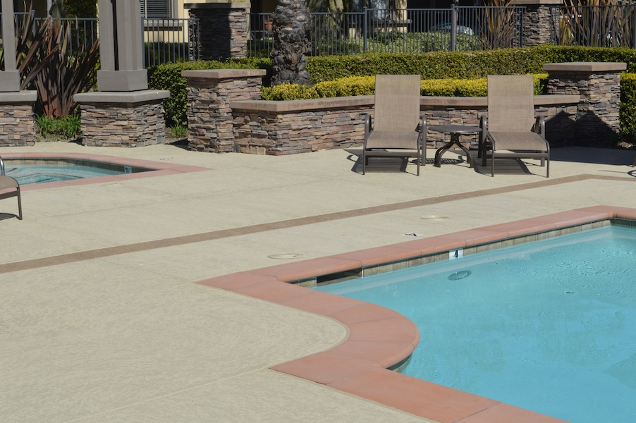 San Diego pool deck refinishing