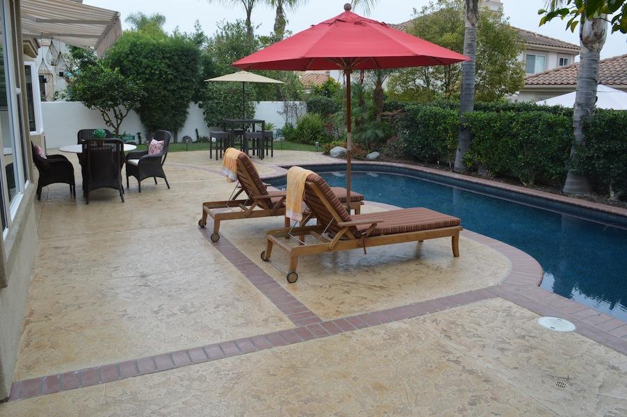 San Diego pool deck resurfacing