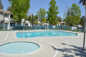 La Mesa, CA Concrete Pool Deck